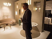 LORD MANDELSON, The opening of Pad. Berkeley Sq. London. 14 October 2013