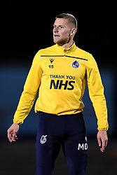 Alfie Kilgour of Bristol Rovers warms up prior to kick off - Mandatory by-line: Ryan Hiscott/JMP - 27/10/2020 - FOOTBALL - Memorial Stadium - Bristol, England - Bristol Rovers v Hull City - Sky Bet League One