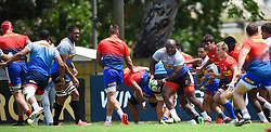SOUTH AFRICA - Cape Town - 27 October 2020-  Stormers during a training session at Bellville High Performance centre.The Stormers will be travelling Pretoria this weekend to play against the Blue Bulls. Photograph; Phando Jikelo/African News Agency(ANA)