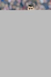 February 9, 2019 - Madrid, Madrid, Spain - Alvaro Morata of Atletico Madrid during the week 23 of La Liga between Atletico Madrid and Real Madrid at Wanda Metropolitano stadium on February 09 2019, in Madrid, Spain. (Credit Image: © Jose Breton/NurPhoto via ZUMA Press)