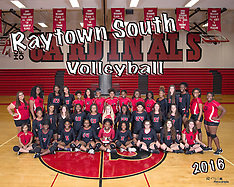 Raytown South Volleyball team & Individual, 2016