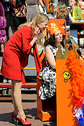Koninginnedag 2011 in de Limburgse plaats Weert // Queen's Day 2011 in the southern of Holland ( Limburg). The Royal family is visiting the city of Weert.<br /> <br /> Op de foto / On the photo: Prinses Mabel