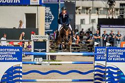 Brash Scott, GBR, Hello M Lady<br /> European Championship Jumping<br /> Rotterdam 2019<br /> © Dirk Caremans<br /> Brash Scott, GBR, Hello M Lady