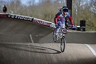 #433 (OVCHINNIKOVA Varvara) RUS at the 2018 UCI BMX Superscross World Cup in Saint-Quentin-En-Yvelines, France.