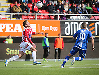FotballFørstedivisjonTromsø IL vs Ranheim04.05.2014Simen Wangberg, TromsøJo Sondre Aas, RanheimFoto: Tom Benjaminsen / Digitalsport