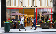 Angelina Paris And Longchamp On Fifth Avenue - 4 May 2021