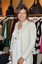 KATE SILVERTON at a party to celebrate the paperback lauch of The Stylist by Rosie Nixon hosted by Donna Ida at her store at 106 Draycott Avenue, London on 17th August 2016.