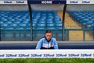 Leeds United defender Pontus Jansson (18) during the EFL Sky Bet Championship match between Leeds United and Burton Albion at Elland Road, Leeds, England on 9 September 2017. Photo by Richard Holmes.