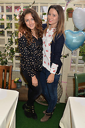Left to right, NATASHA CORRETT and KELLY EASTWOOD at a ladies Valentine's Breakfast to launch the new healthy food menu at royal favourite restaurant Bumpkin, 119 Sydney Street, London on 14th February 2014.