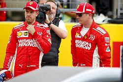 October 20, 2018 - Austin, United States - Motorsports: FIA Formula One World Championship; 2018; Grand Prix; United States, FORMULA 1 PIRELLI 2018 UNITED S GRAND PRIX , Circuit of The Americas , #5 Sebastian Vettel (GER, Scuderia Ferrari)#7 Kimi Raikkonen (FIN, Scuderia Ferrari) (Credit Image: © Hoch Zwei via ZUMA Wire)