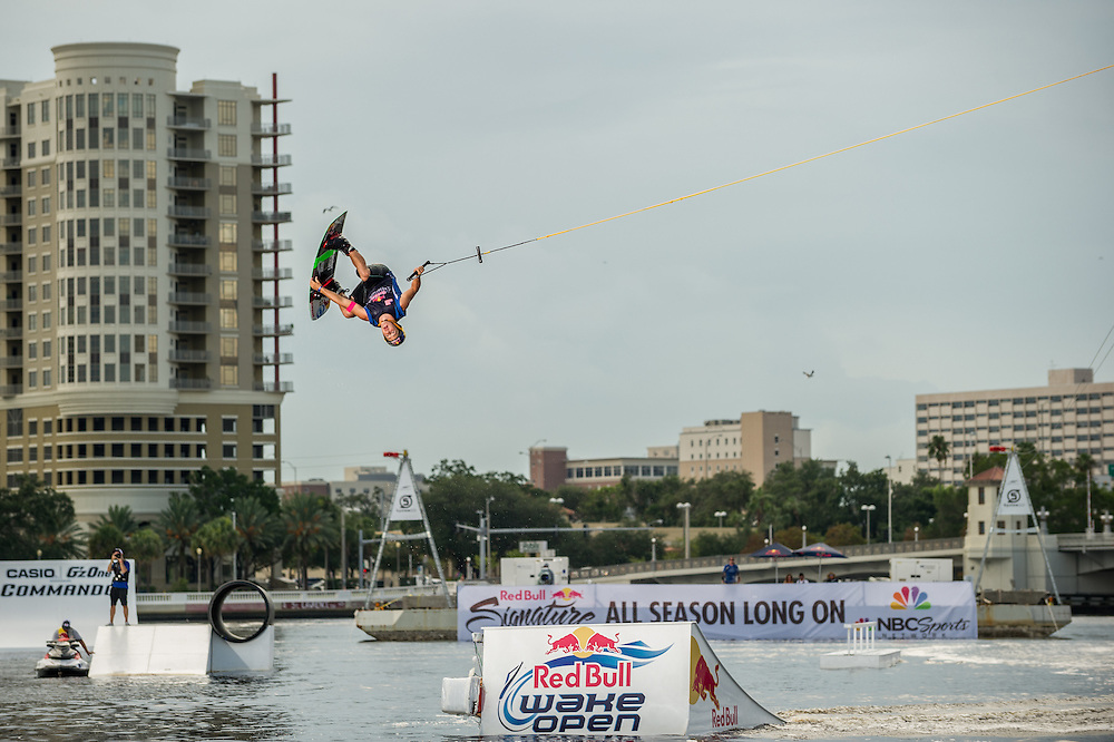 Steel Lafferty performs  at RedBull Wake Open in Tampa, Florida on July 13th, 2012.
