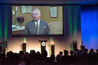 Prince Charles speaking in a video at the Inaugural WWF Living Planet Lecture at The Royal Society, London. 3/11/2016