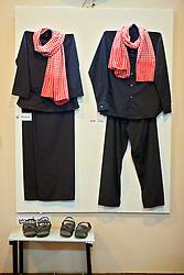 Khmer Rouge Uniforms, Choeung Ek