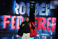 Tennis - 2018 Nitto ATP Finals at The O2 - Day Two<br /> <br /> Mens Singles : Roger Federer (SUI) v Dominic Thiem (Aut)<br /> <br /> Roger Federer  enters the arena<br /> <br /> COLORSPORT/ANDREW COWIE