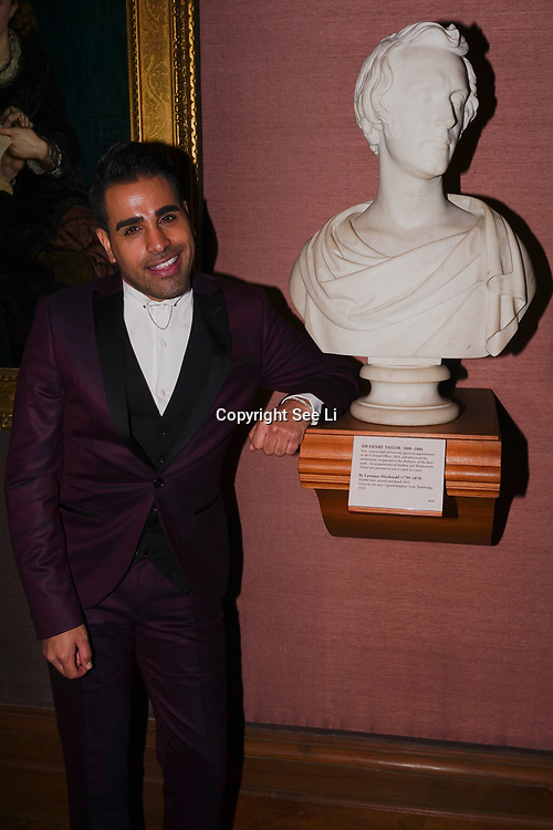 Dr. Ranj attend the Gay Times Honours on 18th November 2017 at the National Portrait Gallery in London, UK.