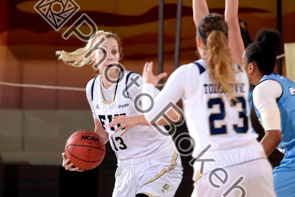 2015 December 28 - FIU's Janka Hegedus (13). <br /> Florida International University fell to Rhode Island, 50-68, at FIU Arena, Miami, Florida. (Photo by: Alex J. Hernandez / photobokeh.com) This image is copyright by PhotoBokeh.com and may not be reproduced or retransmitted without express written consent of PhotoBokeh.com. ©2015 PhotoBokeh.com - All Rights Reserved