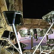 Il FuoriSalone 2010 nelle vie di centrali Milano, Università Statale: Alberi for Sambonet and Ronsenthal di Giulio Iacchetti<br /> <br /> Trees for Sambonet and Rosenthal: an installation by Giulio Iacchetti in State university courtyard in Milan