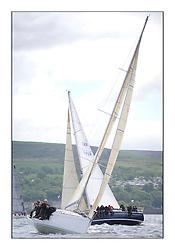 Savills Kip Regatta 2011, the opening regatta of the Scottish Yachting Circuit, held on the Clyde...Grand Cru, First 40.7, GBR 6969 T