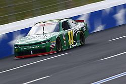 September 27, 2018 - Concord, North Carolina, United States of America - Ryan Truex (11) races down the back straightaway during practice the Drive for the Cure 200 at Charlotte Motor Speedway in Concord, North Carolina. (Credit Image: © Chris Owens Asp Inc/ASP via ZUMA Wire)