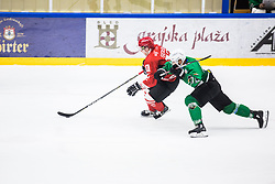 Match between HDD Jesenice vs HK SZ Olimpia at 16th International Summer Hockey League Bled 2019 on 24th August 2019. Photo by Peter Podobnik / Sportida