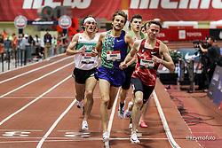 2020 USATF Indoor Championship<br /> Albuquerque, NM 2020-02-15<br /> photo credit: © 2020 Kevin Morris<br /> mens 1500m final, Bowerman TC, Nike