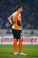 Deception Cedric Carrasso - 21.12.2014 - Bordeaux / Lyon - 19eme journee de Ligue 1 -<br />Photo : Manuel Blondeau / Icon Sport