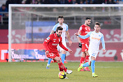 February 8, 2019 - Dijon, France - 20 ROMAIN AMALFITANO (DIJ) - 27 MAXIME LOPEZ  (Credit Image: © Panoramic via ZUMA Press)