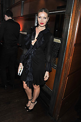 CAPRICE at a dinner hosted by de Grisogono at 17 Berkeley Street, London on 12th November 2012.