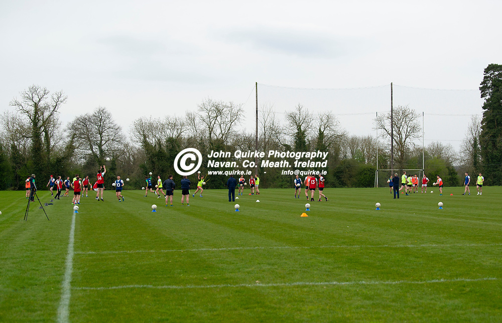 19-04-21. Meath Senior Football players training at Meath GAA Centre of Excellence, Dunganny.<br /> Photo: John Quirke / www.quirke.ie<br /> ©John Quirke Photography, 16 Proudstown Road, Navan. Co. Meath. (info@quirke.ie / 046-9028461 / 087-2579454).