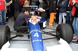 July 1, 2017 - Cicuit Nevers Magny-Cours, France - Jean Alesi (ex pilote de F1 vainqueur d'un grand prix) sur Tyrrell 018 (Credit Image: © Panoramic via ZUMA Press)