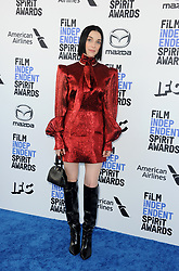 St. Vincent at the 35th Annual Film Independent Spirit Awards held at the Santa Monica Beach in Santa Monica, USA on February 8, 2020.