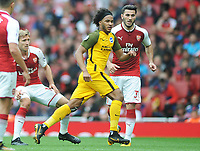 Football - 2017 / 2018 Premier League - Arsenal vs. Brighton & Hove Albion<br /> <br /> Isaiah Izzi Brown of Brighton at The Emirates.<br /> <br /> COLORSPORT/ANDREW COWIE