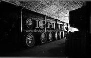 30/08/1963<br /> 08/30/1963<br /> 30 August 1963<br /> Jameson Distillery, interior views of cask storage at Bow Street, Anne Street and 2 Amiens Street,Jameson's, Irish, Whiskey, jameson,