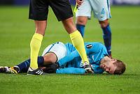 TRONDHEIM, NORWAY - NOVEMBER 02, 2017. UEFA Europa League, round 4: Rosenborg BK (Norway) 1-1 Zenit St Petersburg (Russia). Zenit St Petersburg's Aleksandr Kokorin.
