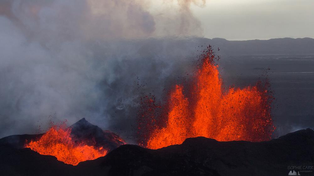 Holuhraun Volcanic Eruption, Iceland Sept 2014