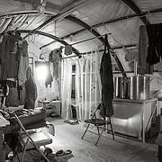 New Harbor camp Jamesway living quarters. Cozy home for 6.