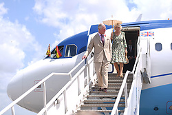 The Prince of Wales and Duchess of Cornwall arrive in Kumasi, on day five of their trip to west Africa.