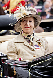 Princess Anne on day one of Royal Ascot at Ascot Racecourse. June 18, 2019. Photo by Robin Utrecht/ABACAPRESS.COM