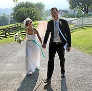 Brad and Tara's wedding held June 19, 2010 at Ashlawn in Charlottesville, Va. Photo/Andrew Shurtleff