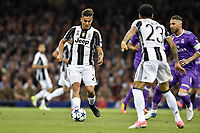 Paulo Dybala of Juventus during the UEFA Champions League Final match between Real Madrid and Juventus at the National Stadium of Wales, Cardiff, Wales on 3 June 2017. Photo by Giuseppe Maffia.<br /> <br /> Giuseppe Maffia/UK Sports Pics Ltd/Alterphotos