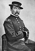 Philip Henry Sheridan (1831-1888) American artillery officer. In American Civil War 1861-1865 rose to major-general in Unionist (northern) army. After photograph by Matthew Brady.