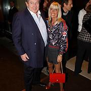 Eenjarig bestaan Louis Vuitton Nederland, Judith Osborn en partner Robert
