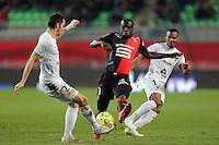 Cheik MBENGUE  - 07.03.2015 -  Rennes / Metz -  28eme journee de Ligue 1 <br />Photo : Vincent Michel / Icon Sport