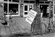 Nederland, Amsterdam, 21-11-1981Demonstratie tegen de voorgenomen plaatsing van kruisraketten. Het protest eindigde op het museumplein.400.000 mensen liepen mee.Foto: Flip Franssen