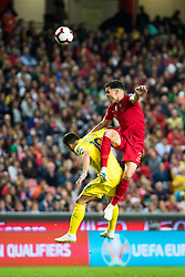 March 22, 2019 - Lisbon, Portugal - Pepe (Kepler Laveran de Lima Ferreira ComM) of Portugal in action during the Qualifiers - Group B to Euro 2020 football match between Portugal vs Ukraine. (Credit Image: © Henrique Casinhas/SOPA Images via ZUMA Wire)