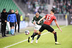 Saint Etienne vs Rennes 21 oct 2018