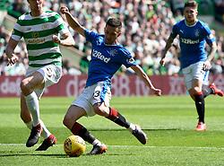 Rangers' Jason Holt shoots for goal during the Ladbrokes Scottish Premiership match at Celtic Park, Glasgow.