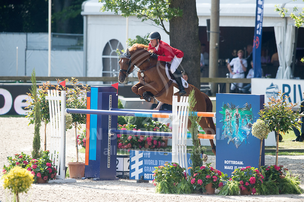 Ludger Beerbaum (GER) & Casello - Furusiya FEI Nations Cup presented by Longines - CHIO Rotterdam 2016 - Kralingse Bos, Rotterdam, Netherlands - 24 June 2016