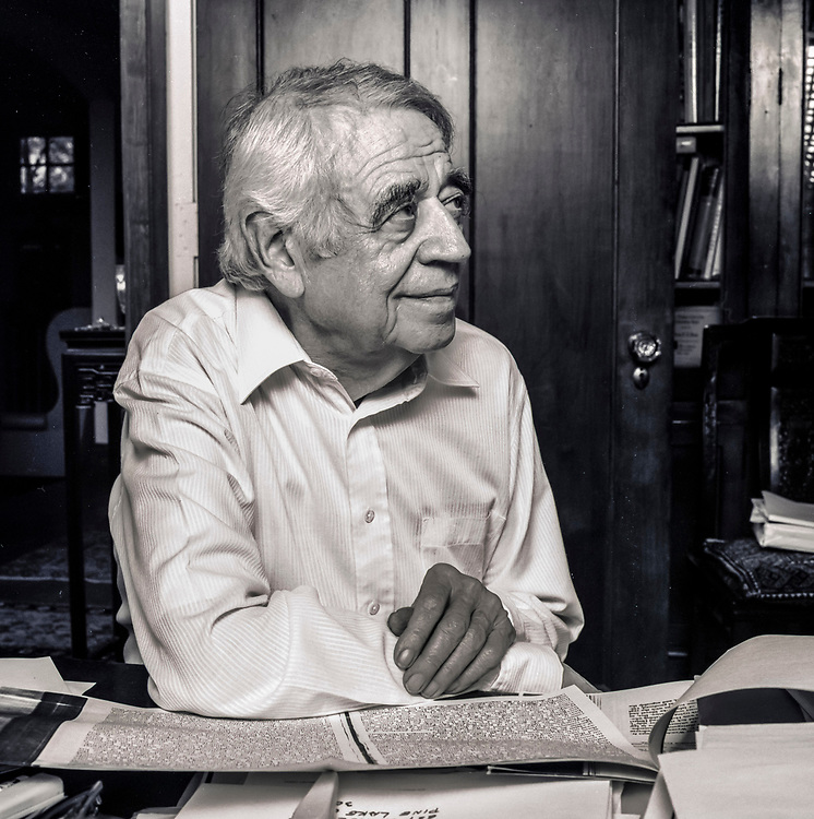 Dr. Paul Kuntz was a Professor of Philosophy for twenty years at Atlanta's Emory University.  Photographed in his home, several years after his retirement.