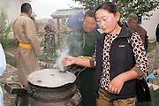 Open air cook house, Erdene Zuu, Mongolia
